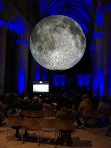 Museum of the Moon at Gloucester Cathedral, October 28th 2019